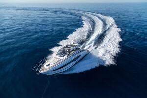 V50 Open exterior white hull | V Class